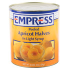#10 Can Peeled Apricot Halves in Light Syrup - 6/Case