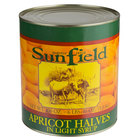 #10 Can Peeled Apricot Halves in Light Syrup