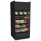 Structural Concepts B8832TM Oasis Black 88 3/8 inch Air Curtain Merchandiser