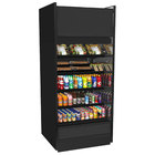 Structural Concepts B7132TM Oasis Black 71 5/8 inch Air Curtain Merchandiser