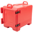 Cambro UPC300158 Ultra Pan Carrier Hot Red Front Loading Insulated Food Pan Carrier with Handles