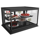 Structural Concepts DGS4823R Impulse 50 1/8 inch Black Drop In Refrigerated Bakery Display Case