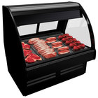 Structural Concepts GMG5 Fusion 62 7/8 inch Curved Glass Refrigerated Meat / Seafood Display Case
