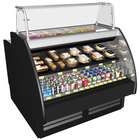 Structural Concepts GP641RR Fusion 75 3/8 inch Combination Salad Prep / Refrigerated Air Curtain Dual Service Merchandiser