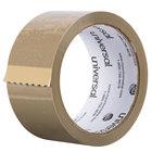 Universal UNV63001 2 inch x 55 Yards Tan General Purpose Box Sealing Tape   - 6/Pack