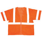 Orange Class 3 High Visibility Safety Vest - XXL