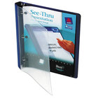 Avery 10801 Blue See-Thru View Binder with 1/2