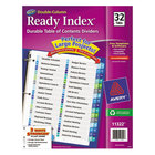 Avery 11322 Ready Index 32-Tab Double-Column Multi-Color Table of Contents Dividers