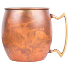 American Metalcraft ACM 12 oz. Antique Copper Moscow Mule Mug with Antique Satin Finish