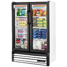 True GDM-36SL-HC-LD 36 inch White Slim Line Glass Door Refrigerated Merchandiser