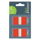 Universal UNV99001 1 inch x 1 3/4 inch Red Page Flag with Dispenser   - 2/Pack