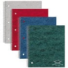 National 31987 8 7/8 inch x 11 inch Assorted Color College Rule 1 Subject Wirebound Notebook - 80 Sheets
