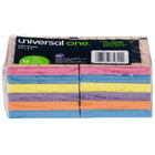 Universal UNV35611 3 inch x 3 inch Assorted Bright Color Fan-Folded Pop-Up Note - 12/Pack
