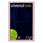 Universal UNV35616 4 inch x 6 inch Lined Assorted Pastel Color Self-Stick Notes 100 Sheets - 5/Pack