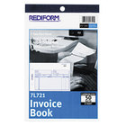 Rediform Office 7L721 Invoice Book, 5 1/2