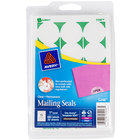 Avery 5248 1 inch Clear Round Write-On / Printable Mailing Seals - 480/Pack
