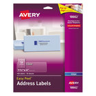 Avery 18662 Easy Peel 1 1/3