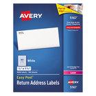 Avery 5167 Easy Peel 1/2