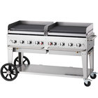 "Crown Verity MG-60LP 60"" Portable Outdoor Griddle - Liquid Propane"