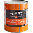 Phillips Chocolate Ice Cream Cone Dip and Fruit Coating - #10 Can