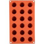 Matfer Bourgeat 257990 Gastroflex Silicone 18 Compartment Mini Cannele Mold