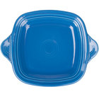 Homer Laughlin 1456337 Fiesta Lapis 10 3/4 inch Square Tray with Handles - 4/Case