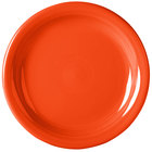 Homer Laughlin 1461338 Fiesta Poppy 6 5/8 inch Appetizer Plate - 12/Case