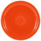 Homer Laughlin 749338 Fiesta Poppy 9 inch Healthcare Plate - 12/Case