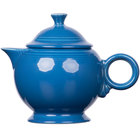 Homer Laughlin 496337 Fiesta Lapis 44 oz. Covered Teapot - 4/Case
