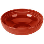 Homer Laughlin 1472326 Fiesta Scarlet 96 oz. Extra Large China Bistro Bowl - 4/Case