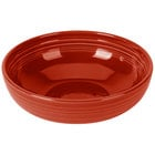 Homer Laughlin 1472326 Fiesta Scarlet 96 oz. Extra Large Bistro Bowl - 4/Case