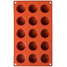 Matfer Bourgeat 257914 Gastroflex Silicone 15 Compartment Mini Muffin Mold
