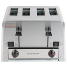 Avatoast THD27240 Heavy-Duty Switchable Bread and Bagel 4-Slice Commercial Toaster - 240V