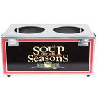 Nemco 6510-D7P Double Well 7 Qt. Soup Warmer - Single Thermostat