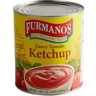 Furmano's #10 Can Fancy Grade Ketchup   - 6/Case