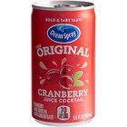 Ocean Spary 5.5 fl. oz. Cranberry Juice Cocktail - 48/Case