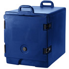 Cambro 300MPC186 Navy Blue Camcarrier Pan Carrier with Handles - Front Load for 12 inch x 20 inch Food Pans