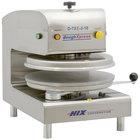 DoughXpress D-TXE-2-18 Dual Heat Round Electromechanical Tortilla Press 18