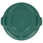 Rubbermaid FG261960DGRN BRUTE Green 20 Gallon Trash Can Lid