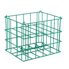 5 Compartment Catering Plate Basket for 6 inch Bread Plates - Store, Transport