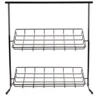 Cal-Mil 1006 Iron Black Sloped Display Stand