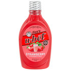 Fox's U-Bet 20 oz. Squeeze Bottle Strawberry Syrup