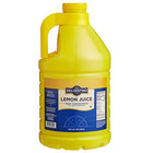 100% Lemon Juice - 1 Gallon