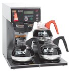 Bunn Axiom 35-3 Automatic Coffee Brewer with 3 Lower Warmers 120/240V (Bunn 38700.0003)