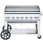 "Crown Verity MG-48 Liquid Propane 48"" Portable Outdoor Griddle"