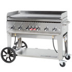 """Crown Verity MG-48 Liquid Propane 48"""" Portable Outdoor Griddle"""