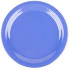 Carlisle 4350114 Dallas Ware 9 inch Ocean Blue Melamine Plate - 48/Case