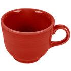 Homer Laughlin 452326 Fiesta Scarlet 7.75 oz. Cup - 12 / Case