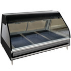 Alto-Shaam ED2 48 Heated Display Case Curved Glass Full Service - Countertop with Legs 48 inch
