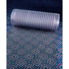 Cactus Mat 3548R-4 Anchor-Runner 4' Wide Clear Vinyl Heavy-Duty Carpet Protection Runner Mat - 5/16 inch Thick
